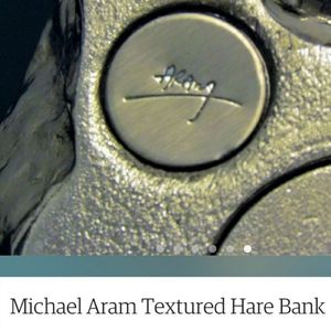 Michael Aram Accents - Michael Aram Hare Bank